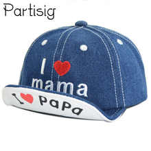 Baby Denim Baseball Cap I Love Mama Baby Summer Hat Kids Sun Cap For Boys And Girls Letter Children's Hats Caps-in Hats & Caps from Mother & Kids on Aliexpress.com | Alibaba Group