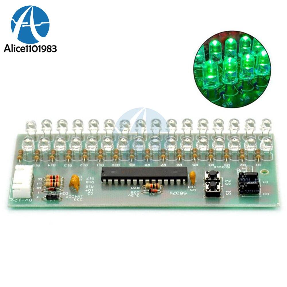 MCU Adjustable Display Pattern LED VU Meter Level Indicator ...