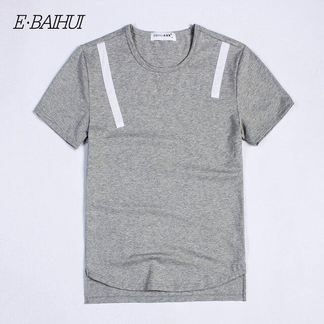 274bdf585a8c E-BAIHUI brand mens t shirts fashion swag Cotton Clothing Male Slim Fit Man  T