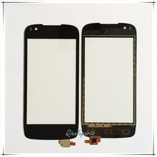 "4.5 "" 100% prueba de teléfono móvil Touch Panel de la pantalla táctil para mosca IQ4405 Evo Chic 1 IQ 4405 Sensor de cristal delantero digitalizador pantalla"