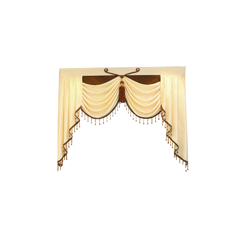 Home Decoration 1 Piece Pelmet Europe Luxury Valance Curtains for Living Room Window Curtains for Bedroom Curtains Custom Made in Curtains from Home Garden