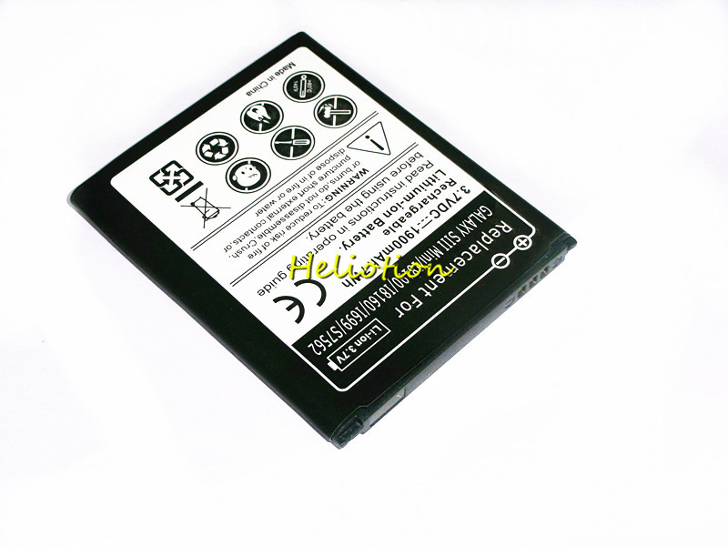 i8190 S3mini Battery EB425161LU EB-L1M7FLU For Samsung Galaxy S3 mini i8190 ACE 2 i8160 i699 Trend S Duos S7562 1900mAh battery image