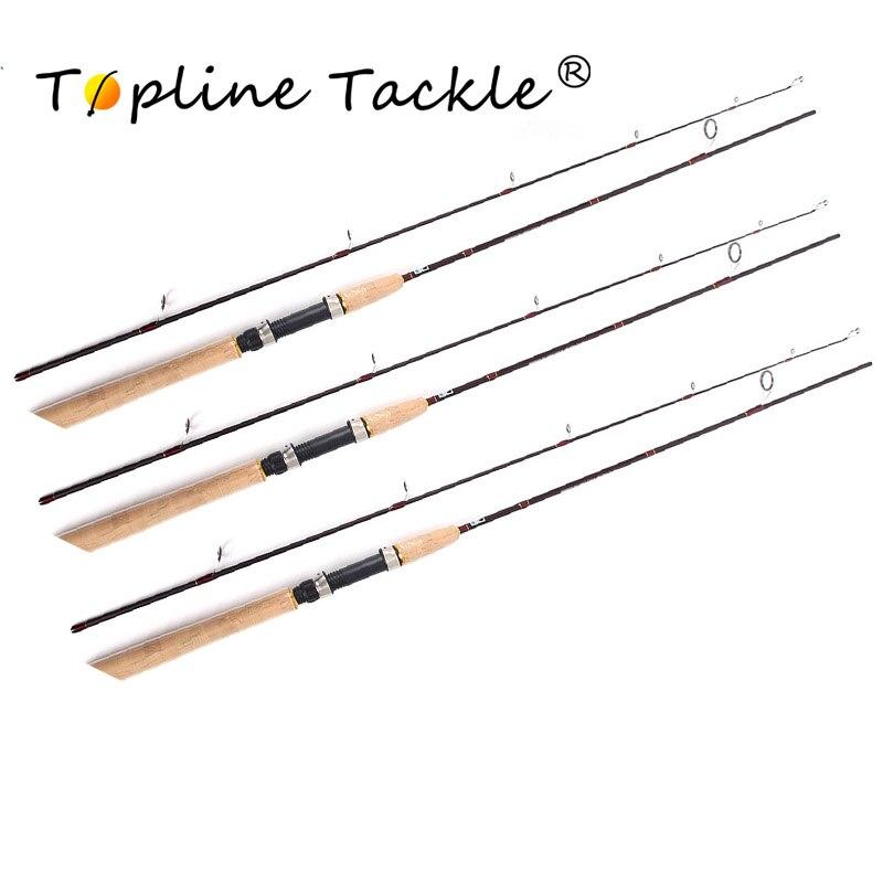 Topline carpe canne à pêche filature télescopique canne à poisson mouche en carbone stylo feeder de pêche tiges 1.8 m