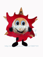 fire red sunny sun mascot costume adult size cartoon star sun theme anime cosply costumes carnival fancy dress for school 3434