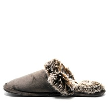 Men's slipper Winter soft house slippers fur warm home indoor shoes for men