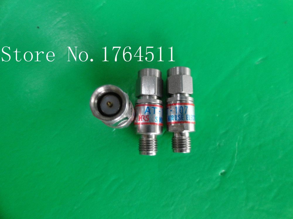 [BELLA] Imported HRS AT-107 DC-18GHz 7dB 2W SMA Coaxial Fixed Attenuator  --3PCS/LOT