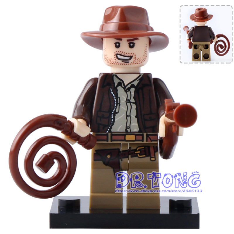 Single Sale Super Heroes Indiana Jones Mystique Nightmare Batman Building Blocks Bricks Collection Toys for Children Gift KF145 single sale super heroes thor spiderman captain america batman hawkeye bricks action building blocks toys for children xh 004