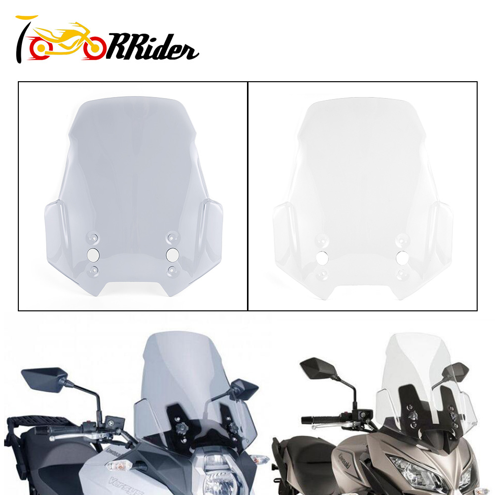 For KAWASAKI Versys 650 Versys 1000 Versys1000 LT MOTORCYCLE Sport Touring Racing High Windscreen Windshield Cover