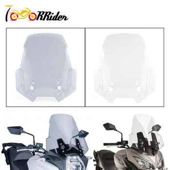 For KAWASAKI Versys 650 Versys 1000 Versys1000 LT MOTORCYCLE Sport Touring Racing High Windscreen Windshield Cover Deflector