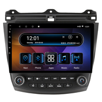 10.1 4G RAM 8 cores Android Car DVD Multimedia Player GPS For Honda Accord 2004 2005 2006 2007 audio stereo car radio headunit