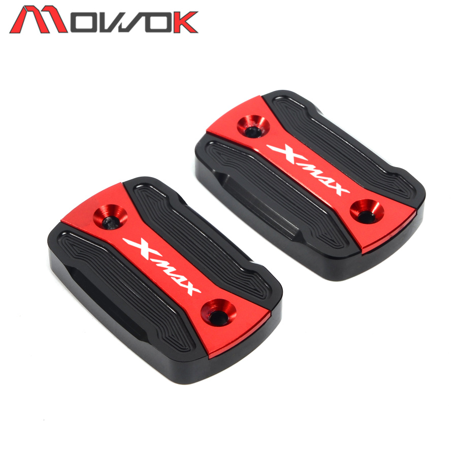 2019 New Motorycle CNC Front Brake Cap Fluid Reservoir Cover For YAMAHA X-MAX XMAX 300 Xmax 300 2017 2018