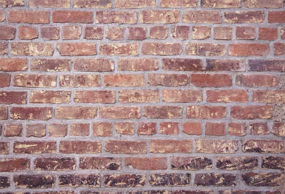 Laeacco Old Fade Brick Wall Grunge Photography Background Customized Thin Cloth Digital Photographic Backdrops For Photo Studio in Background from Consumer Electronics