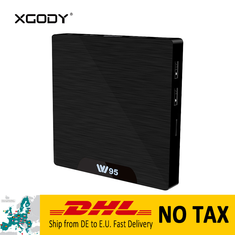 все цены на New XGODY W95 S905 Quad Core Smart TV Box Android 7.1 Nougat 2+16 4K TV Streamer Media Player HDMI WiFi Set top Player Netflix онлайн