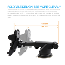 Car Phone Holder GPS Auto Dashboard Windshield Mobile Cell Phone Car Holder Retractable Mount Stand Support cellular phone