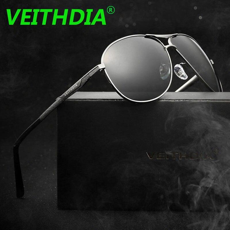 LOGOTIPO Da Marca de óculos de sol VEITHDIA Polarizada Óculos De Sol Dos  Homens Originais Óculos de Condução Masculino Óculos Acessórios Óculos de  oculos de ... 822676c578