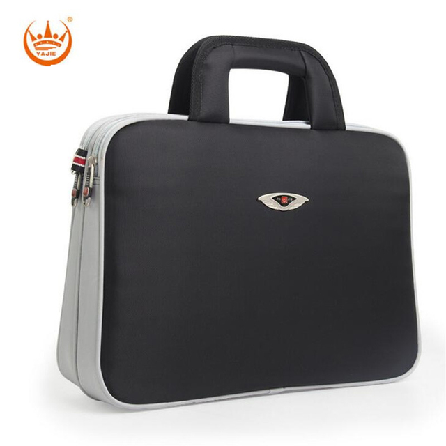 Yajie Computer Bags Men Crossbody Briefcase Shoulder Messenger Bag Waterproof Oxford 14 Inch Notebook Laptop