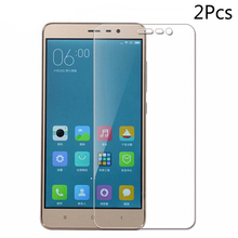 2Pcs Tempered Glass Screen Protector for Xiaomi Redmi Note 3 9H 2.5D P
