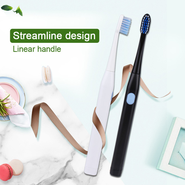 1Pcs Electric Toothbrush Sonic Teeth Brush For Family Kids battery Electric Toothbrush Tooth Waterproof Toothbrush Cross action