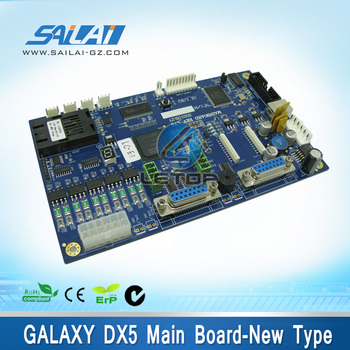 New type!!!Galaxy UD-3212LD dx5 main board REV_1.74 double head for Galaxy solvent printer
