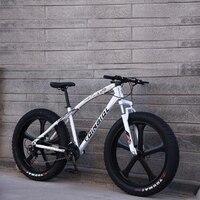 산악 자전거 26 인치 21 속도 5 나이프 휠 크로스 컨트리 가변 속도 더블 디스크 브레이크