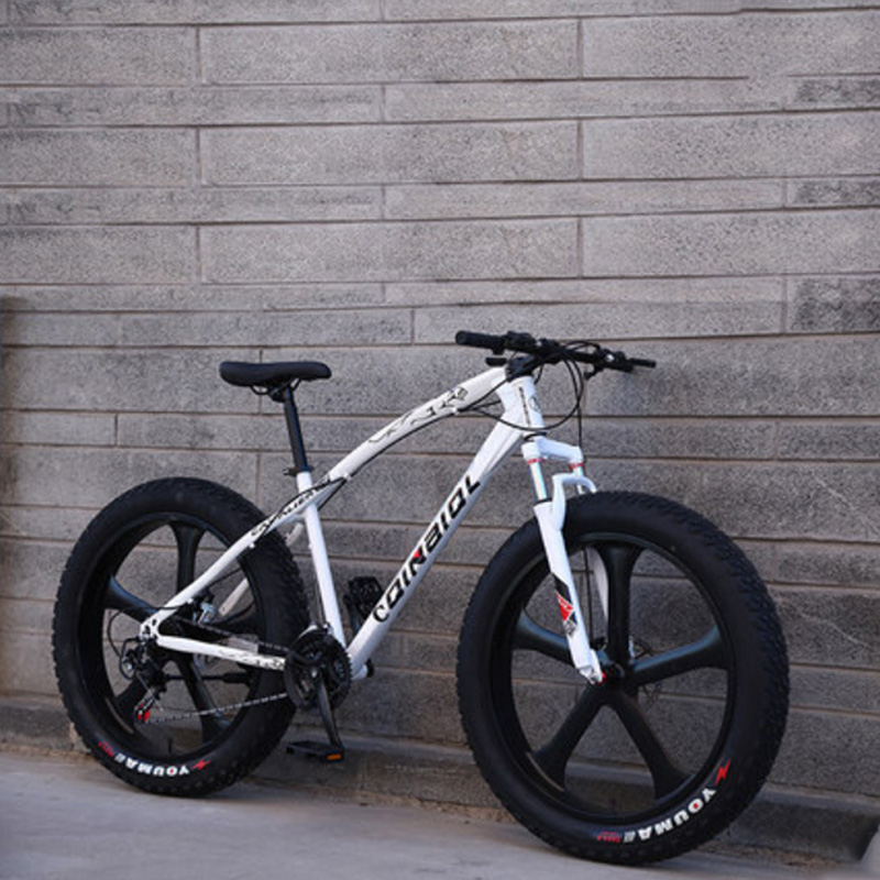Snowmobiles Mountain Bike 26 Inches 21 Speed Five Knife Wheel Cross-Country Variable Speed