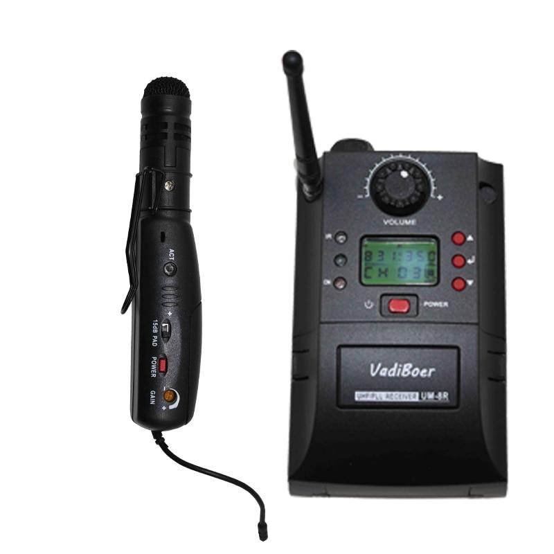 Sistema de cámara inalámbrica UM-8R Sistema de micrófono - Audio y video portátil - foto 2