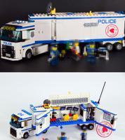 10420 394pcs City Police Fluidity Police Station Model Building Blocks Assembled Kids Toys Compatible Legoe City