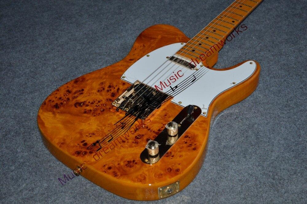 Китай OEM firehawk гитара Горячая продажа высокого качества Красивые F TL электрические Позолоченные элементы гитары