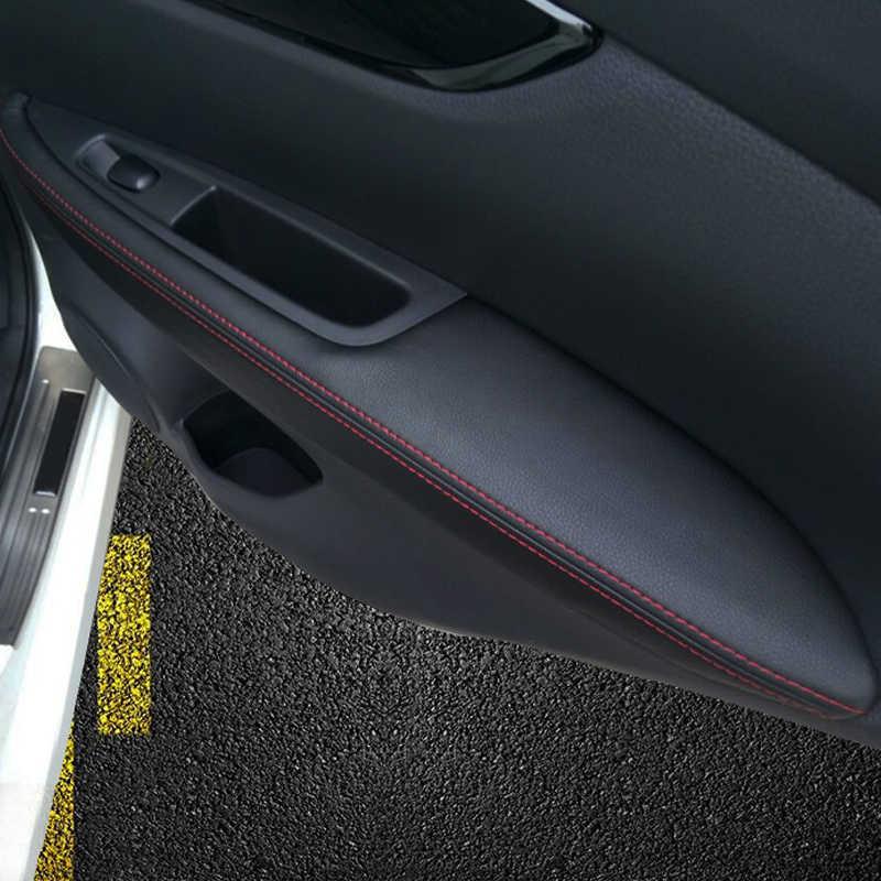 For Nissan Qashqai J11 2016 2017 2018 Car Door Handle Panel Armrest Microfiber Leather Cover