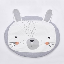 2017 Fashion Cute 95cm Rabbit Baby Blanket Infant Cartoon Game Mats Baby Room Carpets Kids Toy