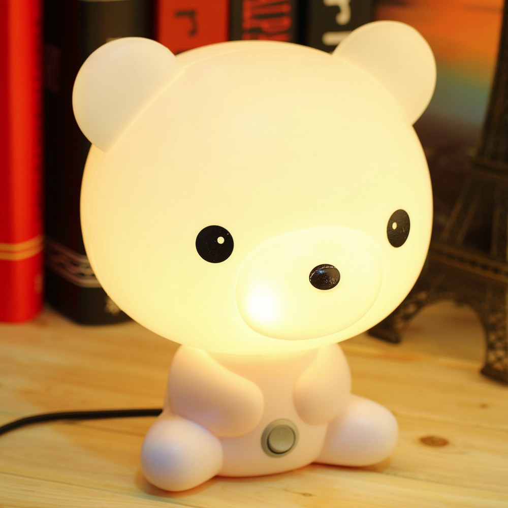 Buy kids table lamps from bed bath beyond childrens table lamps wholesale cute panda cartoon animal night lightkids bed desk geotapseo Images