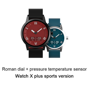 Image 5 - Lenovo Watch X Plus Smart Watch Bluetooth 5.0 Sports Version Smartwatch OLED Screen Double Layer Silicone Strap Wristwatch