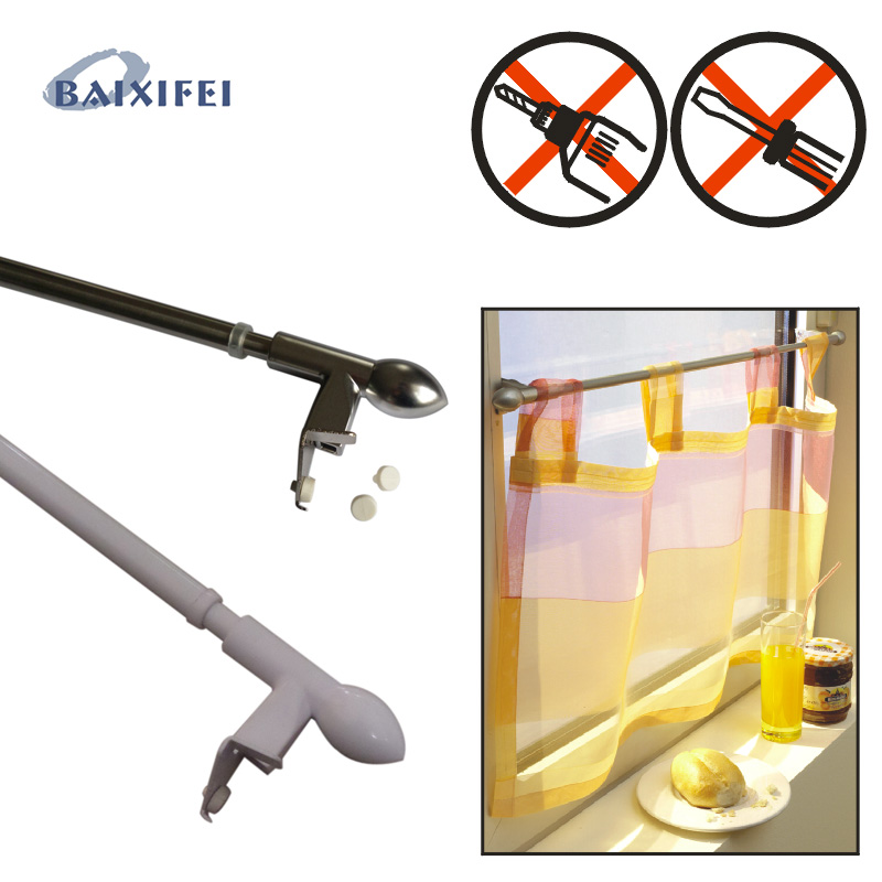 D9-12mm Clamping rod Press&Go  50-80cm, Curtain Accessories Rod for Window DecorationD9-12mm Clamping rod Press&Go  50-80cm, Curtain Accessories Rod for Window Decoration