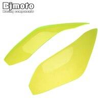 BJMOTO For Kawasaki VERSYS 650 Ninja 250/300 2014 2016 Motorcycle Headlight Screen Lens Protective Cover Shield Iridium