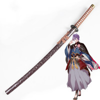 Touken Ranbu Online Wooden Sword Kasen Kanesada Sword Cosplay Props Weapons Suitable for Personal Hobby Collection Cosplay Show