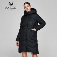 SALCO Free ShippingIn 2017 The Latest Version Of Ms In Winter To Keep Warm Type Long