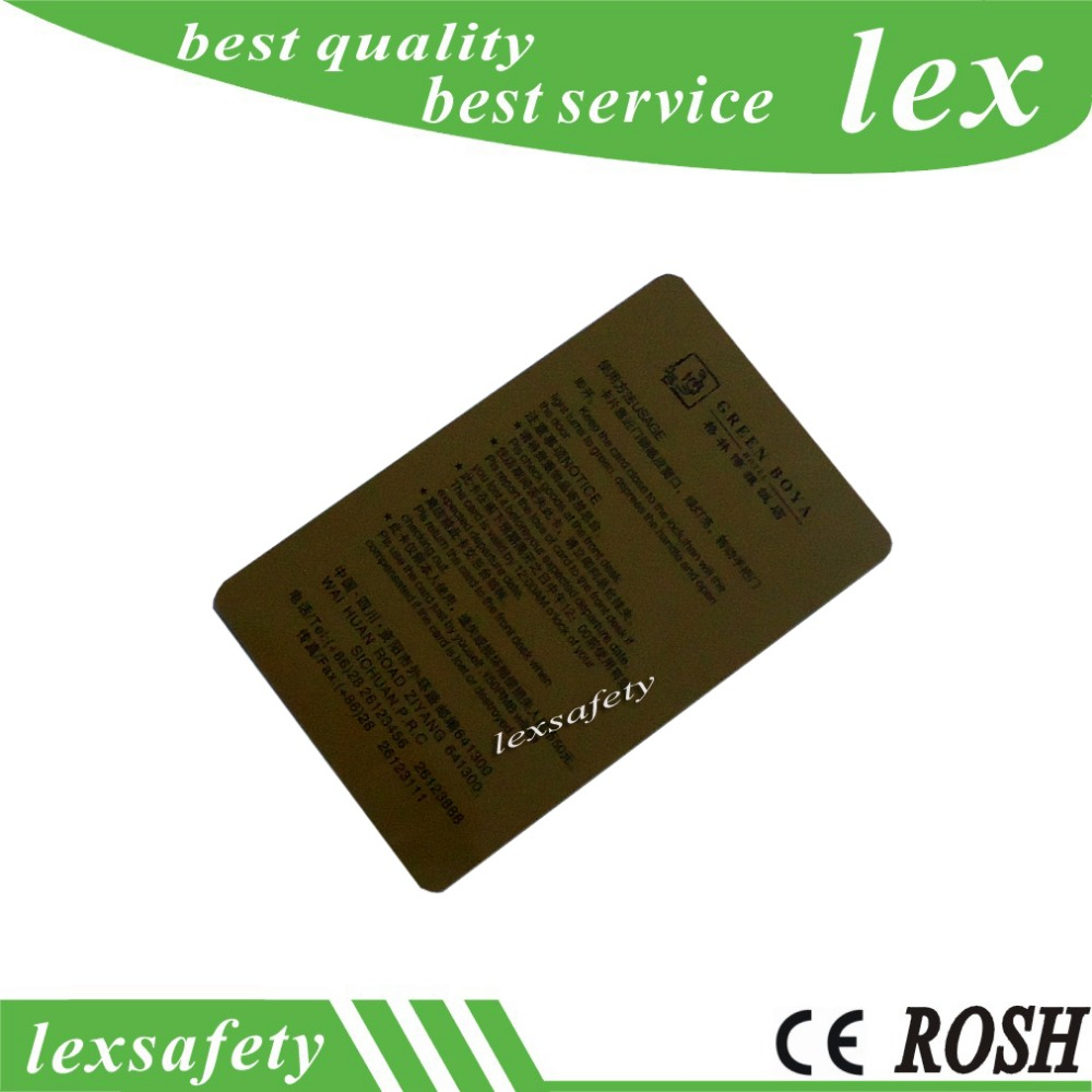 Plastic Card Printing 100 pcs 125Khz RFID Writable T5577 Cards T5557 ...