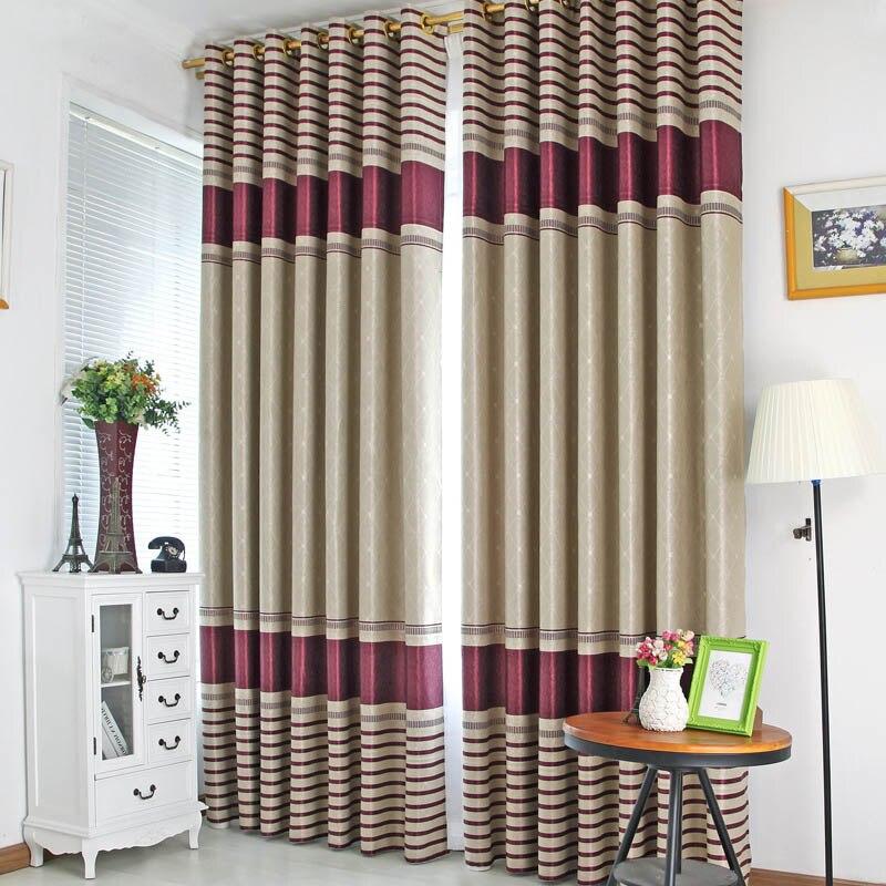 rayas jacquard cortina blackout cortinas cortinas para sala de luxo colores mezclados estilo europeo cortina dormitorio