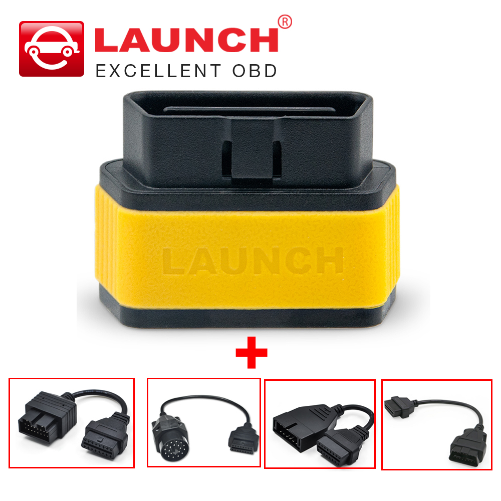 OBD2 cables as gift Launch easydiag 2.0 AndroidiOS 2 in 1 auto diagnostic tool X431 Easy diag Update online better than ELM327