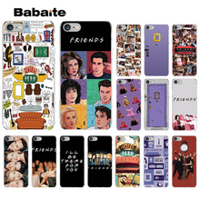 Babaite Friends Season TV Novelty Fundas Phone Case Cover for Apple iPhone 8 7 6 6S Plus X XS MAX 5 5S SE XR
