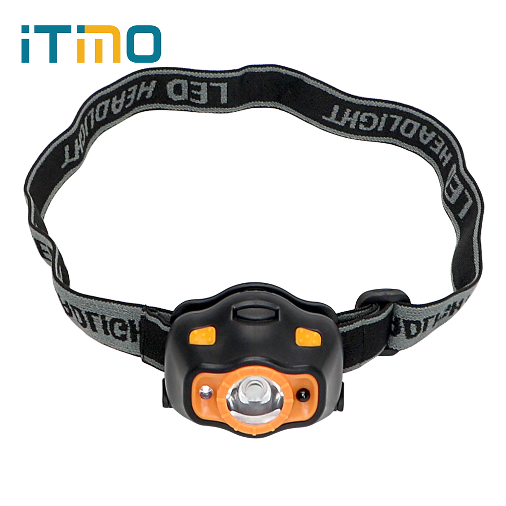 iTimo LED Headlamps 3 Modes Headlight Super Bright Emergency Light For Outdoor Activities For Fishing Hiking Camping Torch