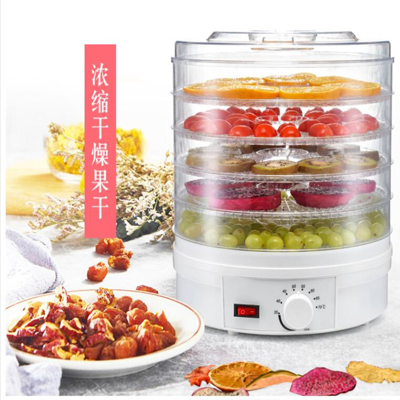 new arrival 350W dried fruit machine, Fruits and vegetables dehydration, MINI-food dryer machine for home use household fruits vegetables herbs and pet snacks automatic timed mini dehydration air dried machine 4 floors