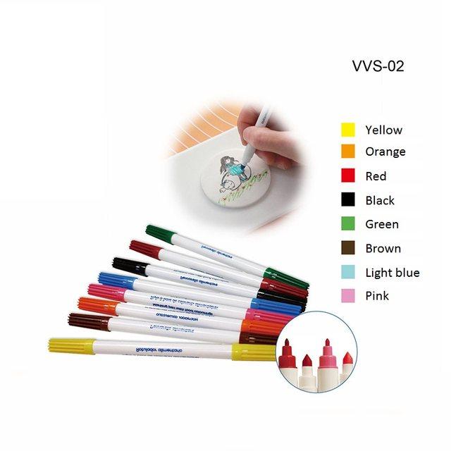 Online Shop 1 set Colorful Food Color Pen Edible Pigment Pens Dye ...
