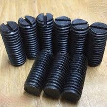 M1.6* 2 3 4 5 6 мм стальной плоский наконечник набор шлицевых винтов с плоским концом Grub винт регулировки duplexer фильтр combiner двойной тюнер