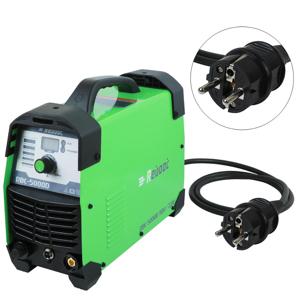 Plasma Cutter 50Amps Automatic 110 220V Dual Voltage Compact Metal Cutter AC 1 2 quot Clean Cut Inverter Cutting Machine IGBT Welder in Plasma Welders from Tools