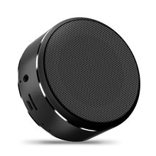 Stereo Bluetooth speaker Portable outdoor metal speaker Mini-wireless Bluetooth speaker subwoofer support TF AUX USB qcy value package qq800 mini portable bluetooth speaker support tf card usb aux and qy11 sports wireless earphones headphones%2
