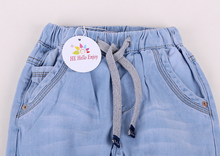 Blue Denim Trousers Baby Children Pants