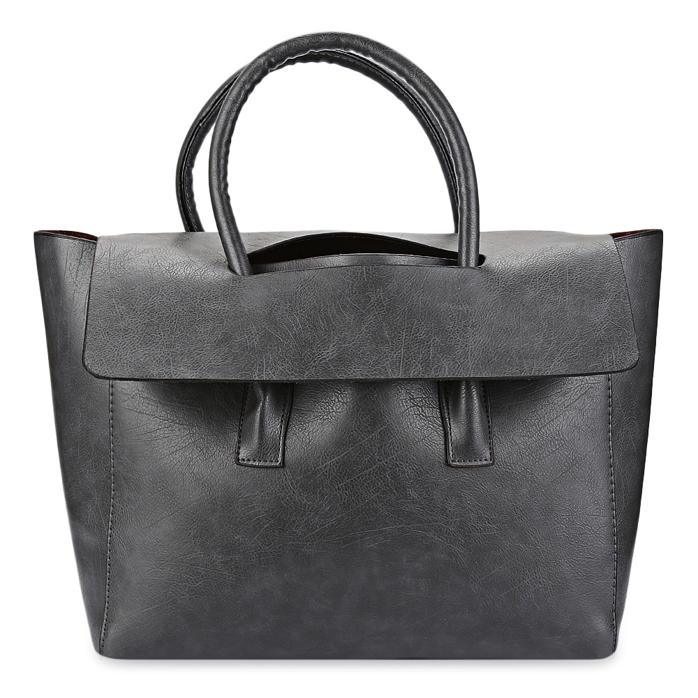 Guapabien Women Wing Pattern Solid Color PU Handbag Tote Shoulder Messenger Crossbody Bag for Ladies