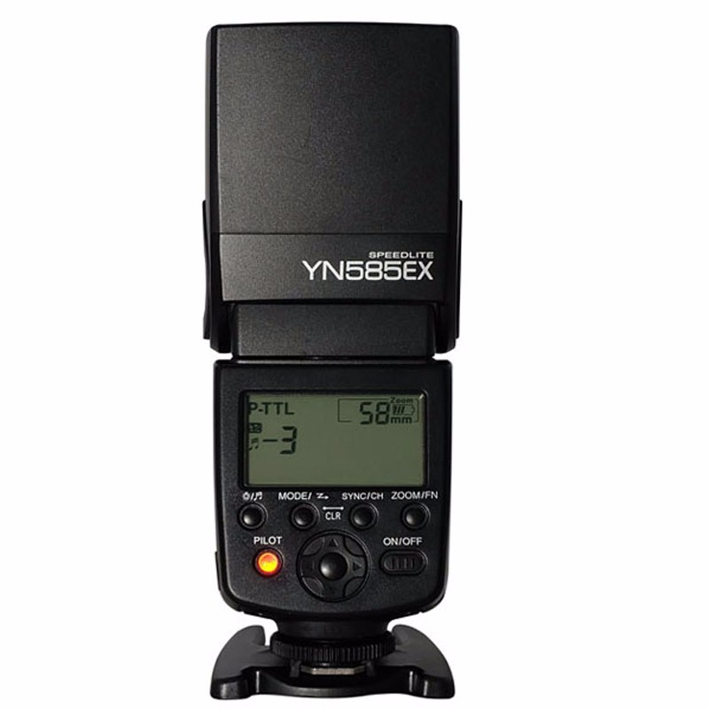 Yongnuo Wireless Flash Speedlite YN585EX P-TTL for Pentax K-1 K-3 K-3II K-5 K-5II K5IIs K-70 K-50 K-30 K-S2 K-S1 DSLR Camera недорго, оригинальная цена