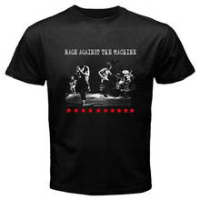 Summer Sleeves Cotton Fashion MenS  Rage Against The Machine Printing O-Neck Short-Sleeve T Shirts